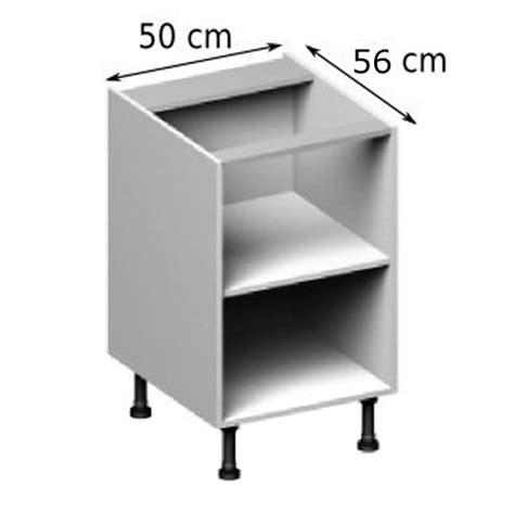 meuble cuisine largeur 55 cm meuble caisson bas largeur 50 vial menuiserie cuisine