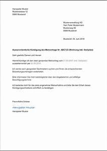 Fristgerechte Kündigung Mietvertrag : wohnung k ndigen muster vorlage f r k ndigung mietvertrag ~ Watch28wear.com Haus und Dekorationen
