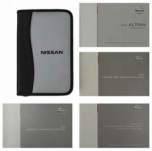 For 2003 Nissan Altima Owners Operators Manual Supplement