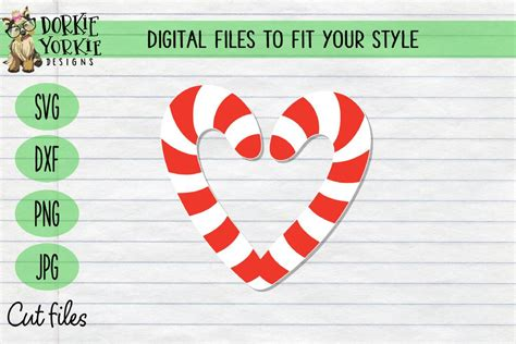 Download thousands of free icons of signs in svg, psd, png, eps format or as icon font. Candy Cane Heart SVG Cut File - SVG & Font Market