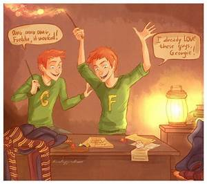 1000+ images about Fred and George on Pinterest | Goblet ...