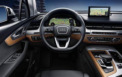 audi q7 interior 2018 audi q7 interior pictures 2020 auto review