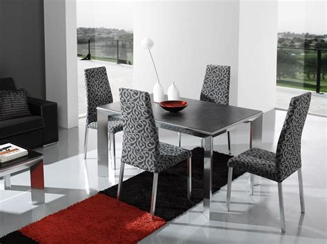 Modern Dining Room Chairs Chosen For Stylish And Open