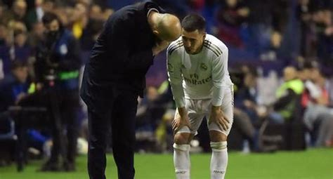 Real Madrid vs. Levante: Hazard se lesionó en el pie y ...