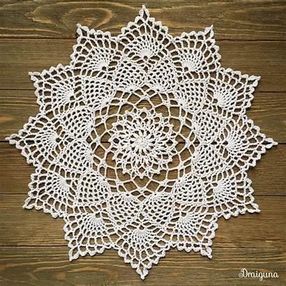 Doily Crochet Pattern Pineapple