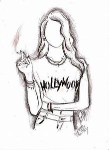 hipster girl drawings tumblr - Google Search | Libros ...