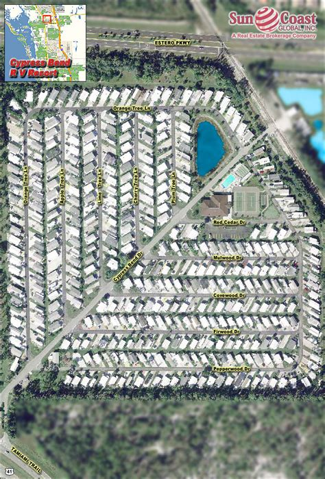 cypress bend rv resort real estate estero florida fla fl