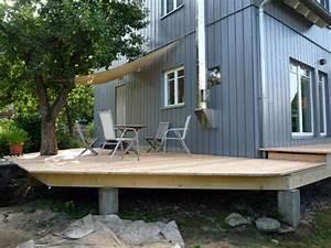 Terrasse Mit Holz : holz terrasse nicht uberdacht ~ Whattoseeinmadrid.com Haus und Dekorationen