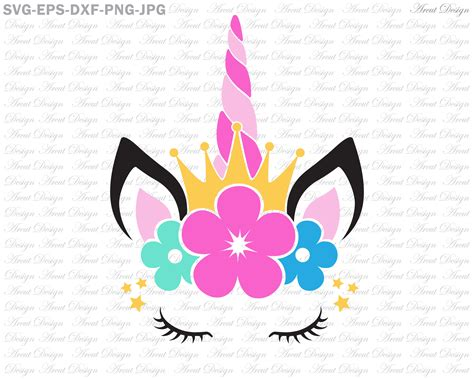 These can be used in website landing page. Unicorn Crown Svg Unicorn head Svg Unicorn girl Svg ...