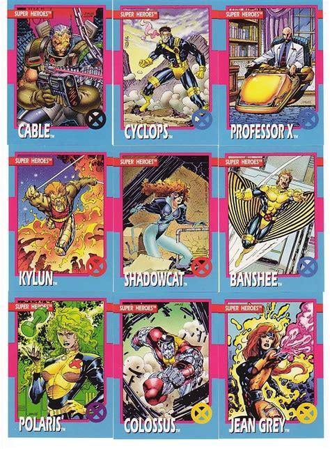 cards jim lee marvel trading xmen comics comic wolverine jean grey artist bronze age american books i9 photobucket