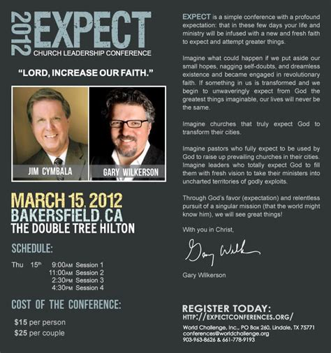 expect church leadership conference bakersfield ca