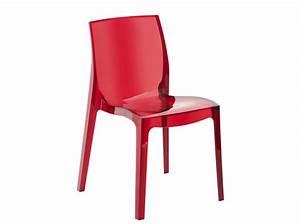 Chaise Transparente Alinea : on craque pour les chaises transparentes elle d coration ~ Teatrodelosmanantiales.com Idées de Décoration