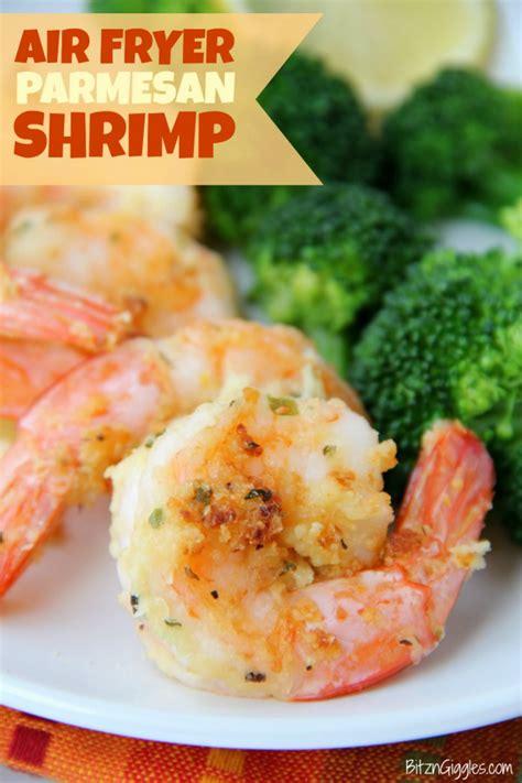 shrimp fryer air parmesan garlic fried