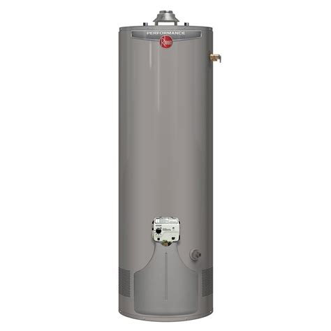 55 gallon gas water heater rheem performance 55 gal 6 year 45 000 btu ultra low 7364