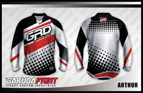 koleksi desain jersey sepeda downhill  garuda print page garuda print