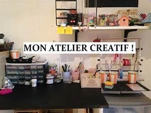 Mon Cabanon Creatif : mon atelier creatif youtube ~ Zukunftsfamilie.com Idées de Décoration
