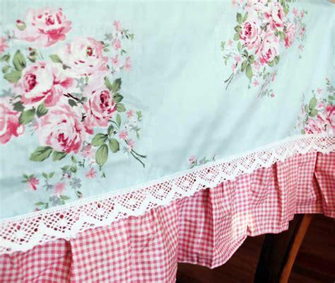 ruffle trim blue ruffle tablecloth tablecloth tabletop