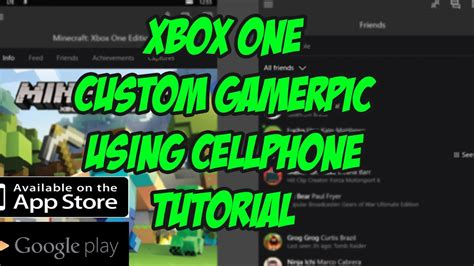 Xbox One Custom Gamerpic Using Your Cellphone Xbox Beta