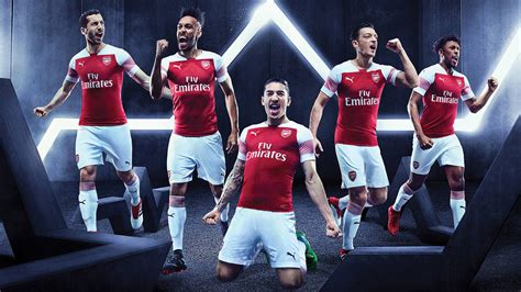 Puma | Puma Arsenal Home Shirt 2017 2018 | Arsenal Football Shirts