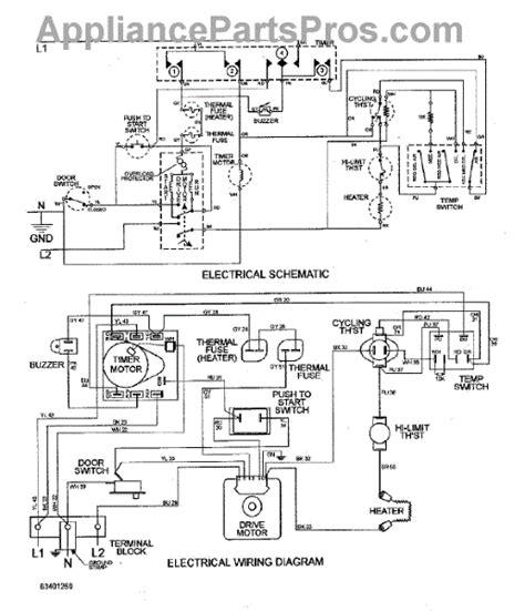 parts for maytag mde2500ayw wiring information parts appliancepartspros