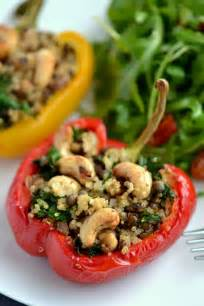 Vegan Stuffed Bell Peppers with Quinoa