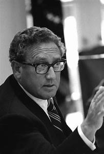 FileSecretary Of State Henry Kissinger At A Meeting