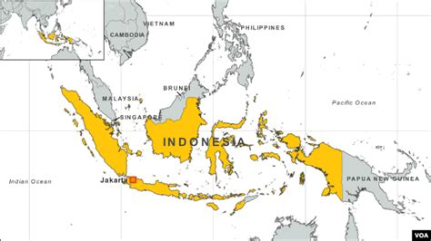 indonesia fiji map