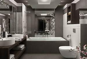 Kleines Badezimmer Einrichten : kleine badezimmer einrichten 30 ideen f r modernes bad ~ Michelbontemps.com Haus und Dekorationen