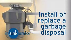 How To Install    Remove A Garbage Disposal