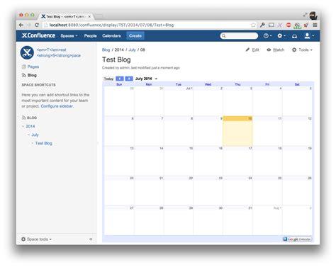 google calendar calendar for confluence atlassian marketplace