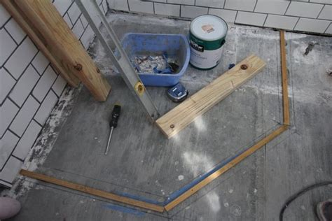 Custom Shower Pans by How To Build A Custom Tiled Shower Pan Custom Shower Pan