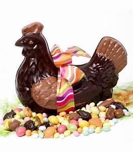 Poule Pour Paques : g ante poule de p ques en chocolat chocolat p ques d 39 lys ~ Zukunftsfamilie.com Idées de Décoration