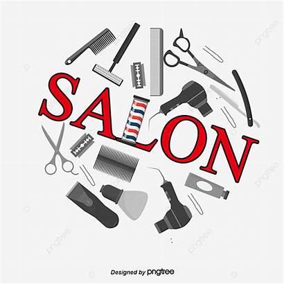 Salon Hair Tools Vector Cutting Tool Haircut