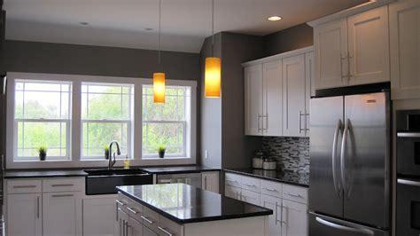 "Steel Grey Granite"" Backsplash Craftsman   Best Home"