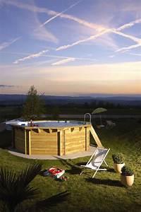 Piscine Hors Sol Chauffée : 25 best ideas about piscine hors sol on pinterest ~ Mglfilm.com Idées de Décoration