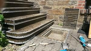 Steinteppich Verlegen Aussen : waschbetontreppe mit steinteppich sanieren steinteppich in ihrer n he ~ Eleganceandgraceweddings.com Haus und Dekorationen