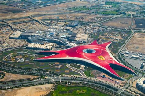 Abu Dhabi's Ferrari World To Have Two New Rides This Year