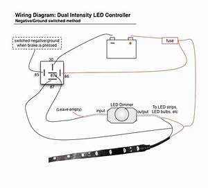 Led Brake    Running Light Controller Diagram