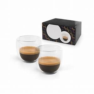 Verre à Café : set caf personnalisable de 90 ml avec 2 verres isothermes ~ Teatrodelosmanantiales.com Idées de Décoration