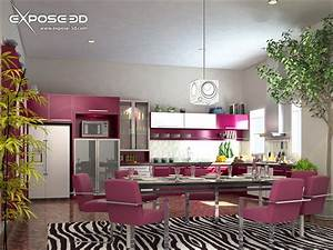 wallpapers background interior decoration of kitchen With interior decoration of a kitchen