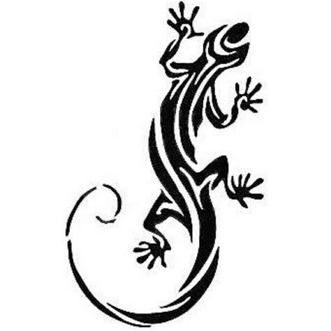 Tribal Lizard Tattoo Designs Lizard Tattoo Thoughts
