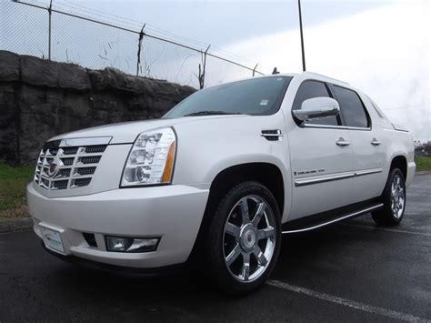 Sold.2009 Cadillac Escalade Ext Awd 47k White Diamond Premium 22