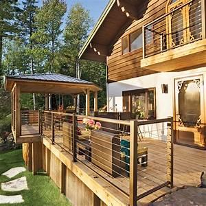 en etapes faites votre patio avec notre expert en With decoration jardin exterieur maison 18 organisation deco escalier quebec
