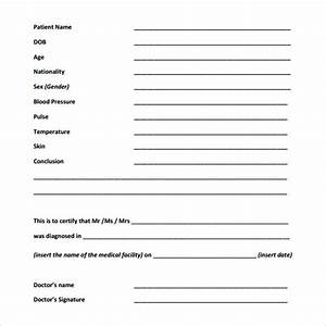 Sample medical report template 20 free documents in pdf for Patient report form template download
