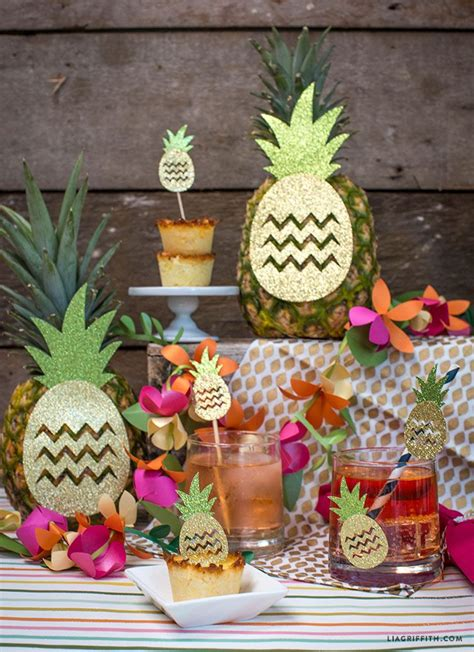 pineapple party decorations kids party decorations diy