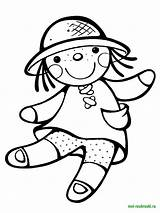 Doll Coloring Pages Dolls Printable Ragdoll Print Toys Recommended Kaynak Loldolls sketch template