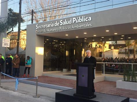 Secretaría de salud del estado de baja california. Andreotti inauguró el nuevo edificio de la Secretaría de Salud Pública