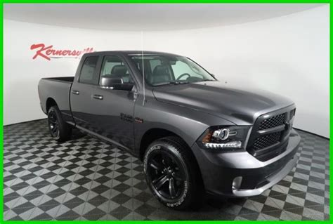 2018 Ram 1500 Sport Night Edition 4wd V8 Hemi Crew Cab