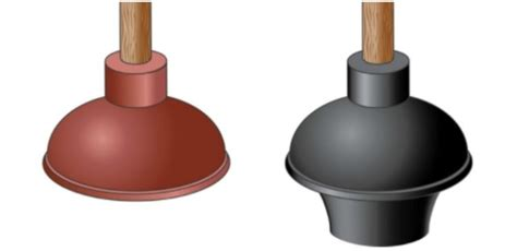 The Types Of Plungers And Which Clogs They Fix