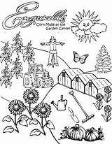 Corn Coloring Popcorn Stalk Stalks Farm Pages Field Drawing Kernel Clipart Template Printable Sheet Getdrawings Clip Sketch Popular Templates Library sketch template